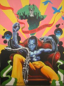 Afro Beat King...Fela Kuti by Aniekan