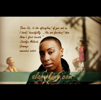 Learn more about Carolyn Malachi and her capacity for love at http://wp.me/pC3Xj-CR